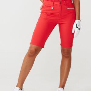 röhnisch-comfort - stretch - bermuda - röd