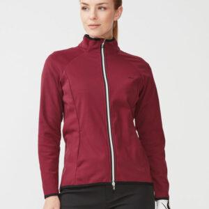 röhnisch-hybrid - jacket - burgundy