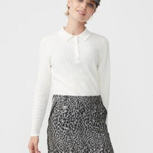 röhnisch-knitted shirt - offwhite