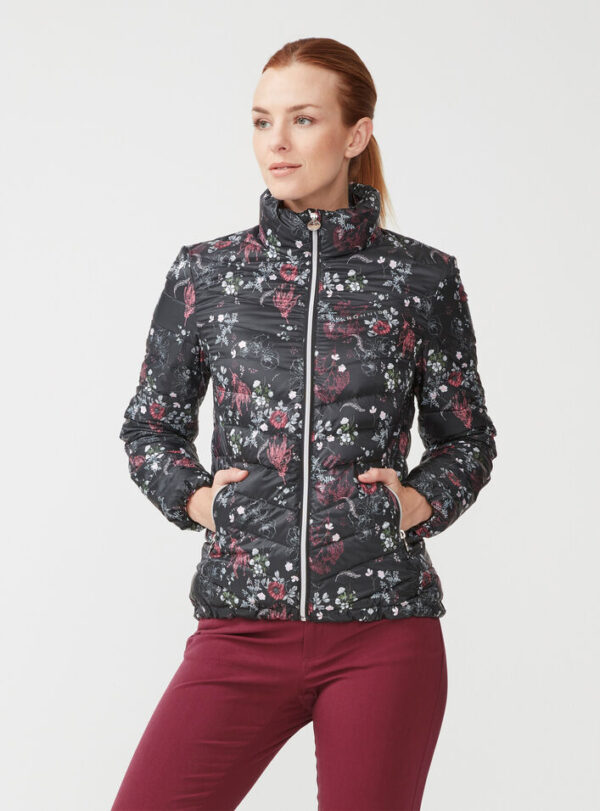 röhnisch - lightdown - jacket - pink garden