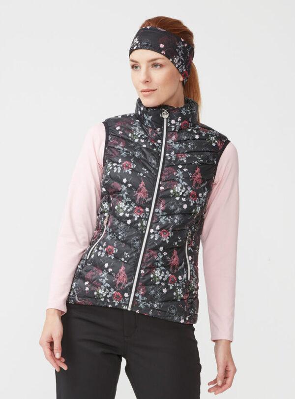 röhnisch - lightdown - vest - pink garden