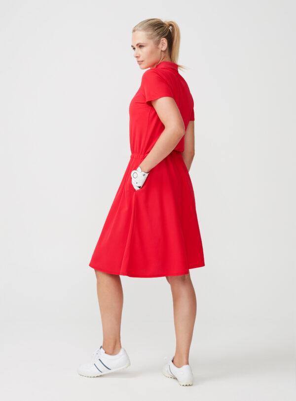 röhnisch - soft - func - dress - röd