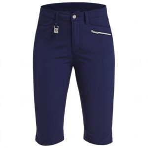 röhnisch-womens-comfort-stretch-bermuda-shorts - blå